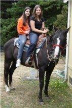 Best friends on horseback 2012