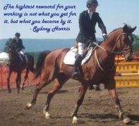 The highest reward...