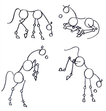 Drawing Horses In Fantastic Action
