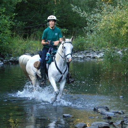 Endurance riders cross all kinds of terrain