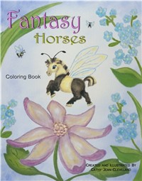 Click to buy a horse coloring book now!
