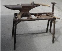 Farrier's anvil.