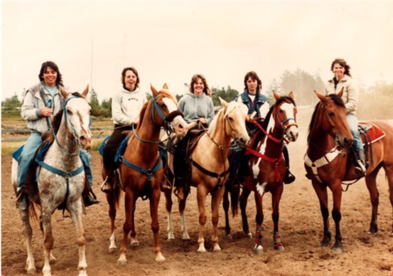 Pony Express Race Winners 1983...That's me on the right.