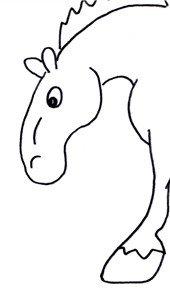 Cartoon horses are fun!
