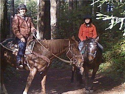 Trail riding is a fun family affair!
